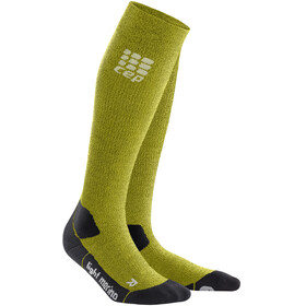 cep Pro+ Outdoor Light Merino Socks Men green/black